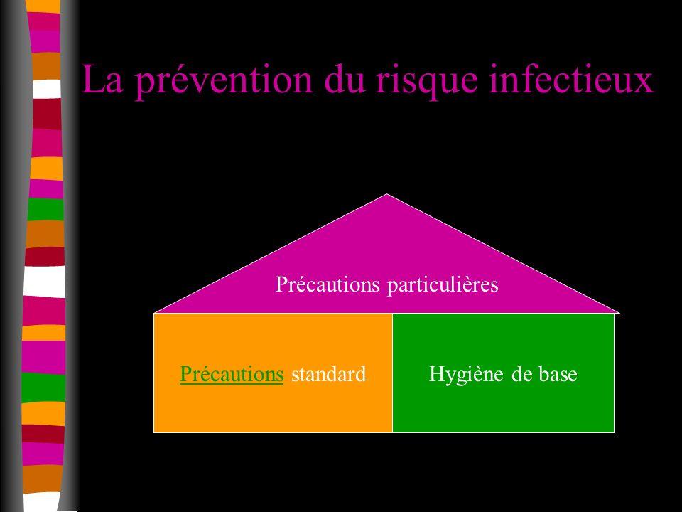 La prévention du risque infectieux