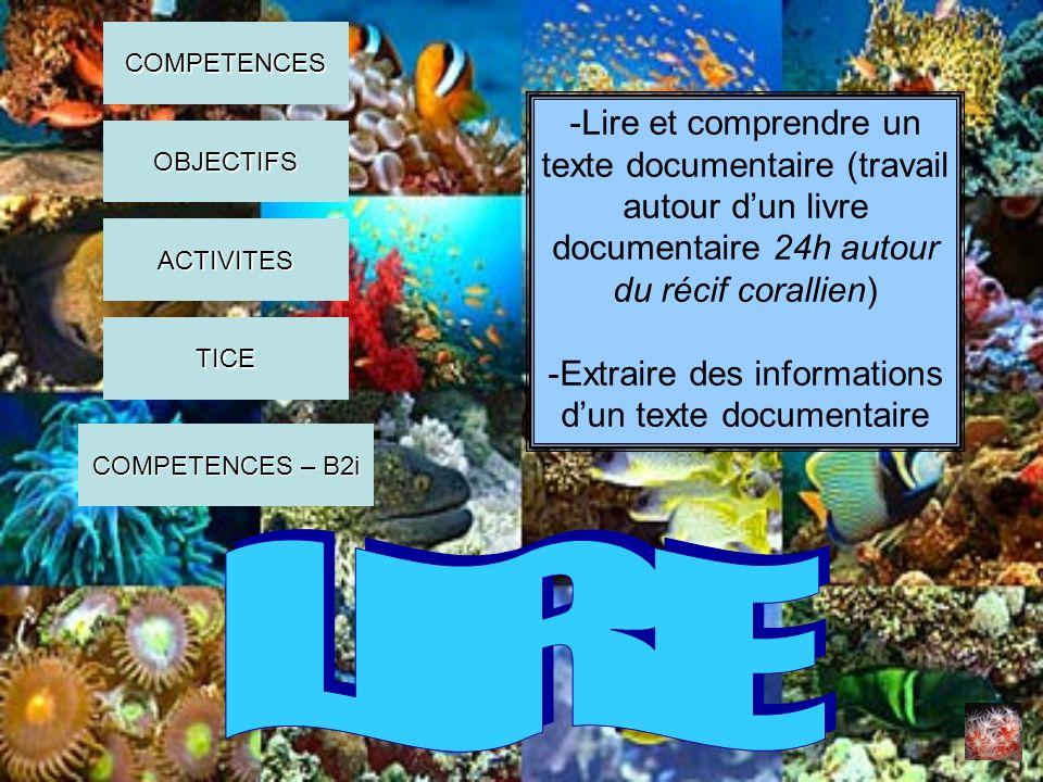 -Extraire des informations d'un texte documentaire