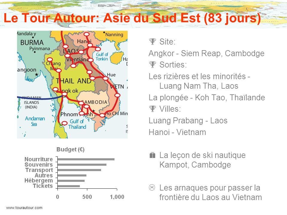Le Tour Autour: Asie du Sud Est (83 jours)