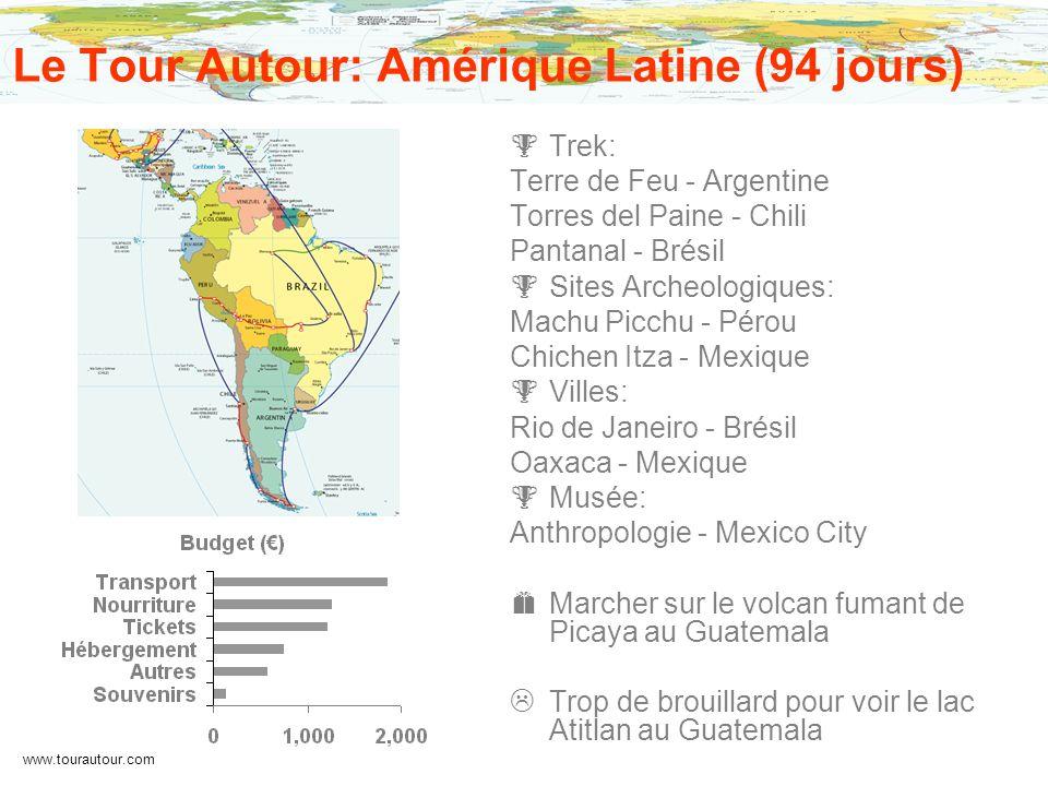 Le Tour Autour: Amérique Latine (94 jours)