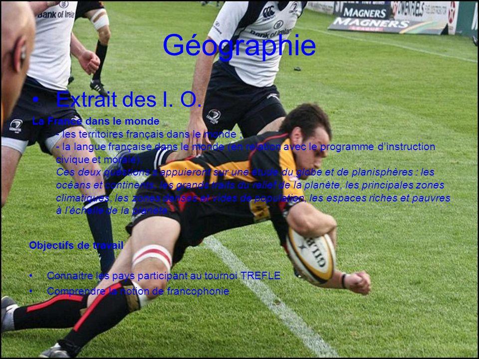 Géographie Extrait des I. O.