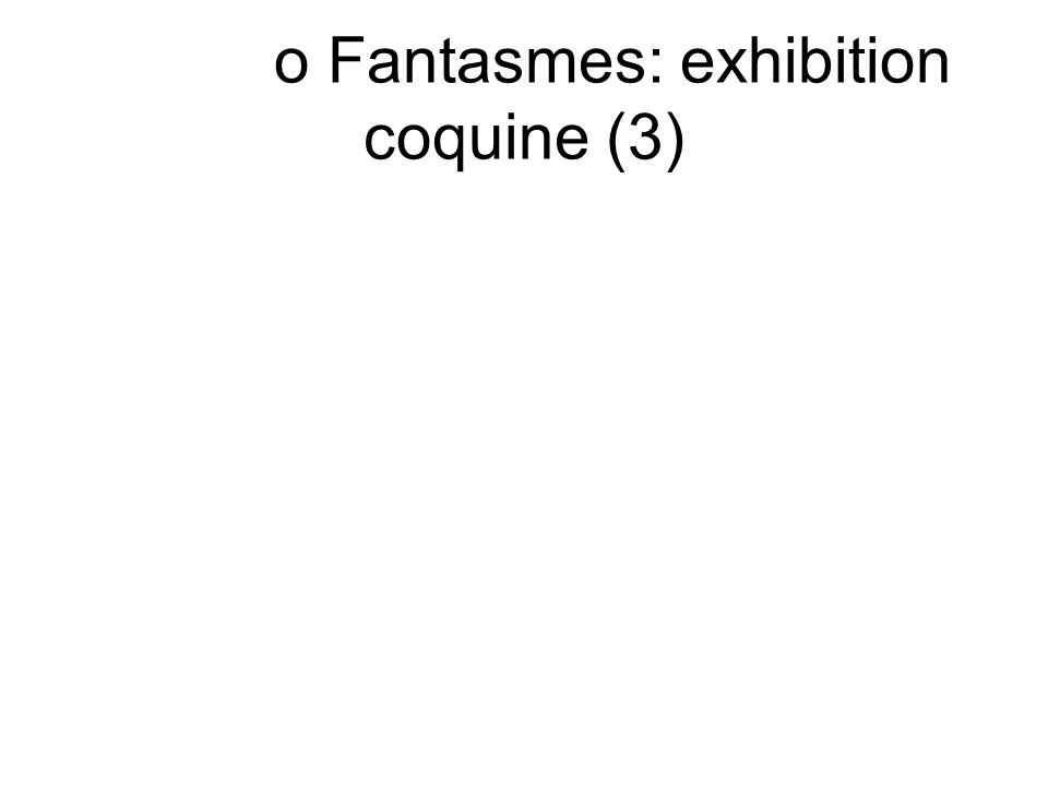 o Fantasmes: exhibition coquine (3)