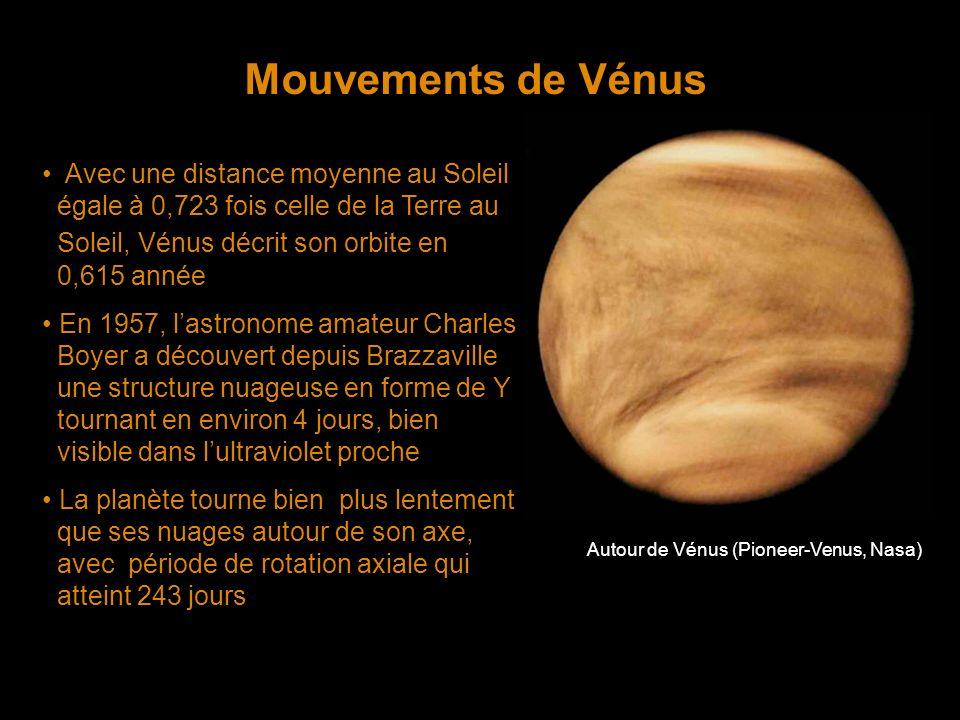 Autour de Vénus (Pioneer-Venus, Nasa)
