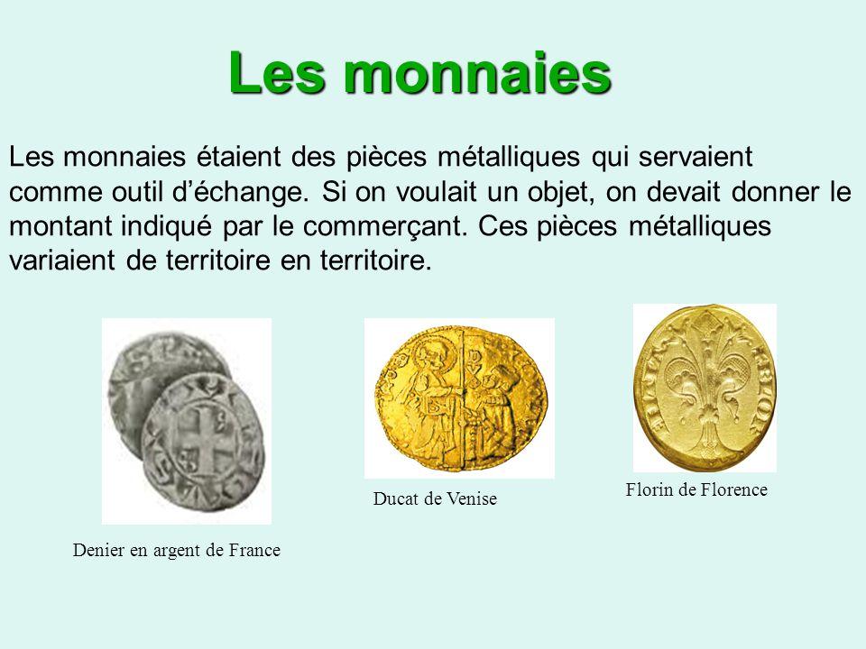 Les monnaies
