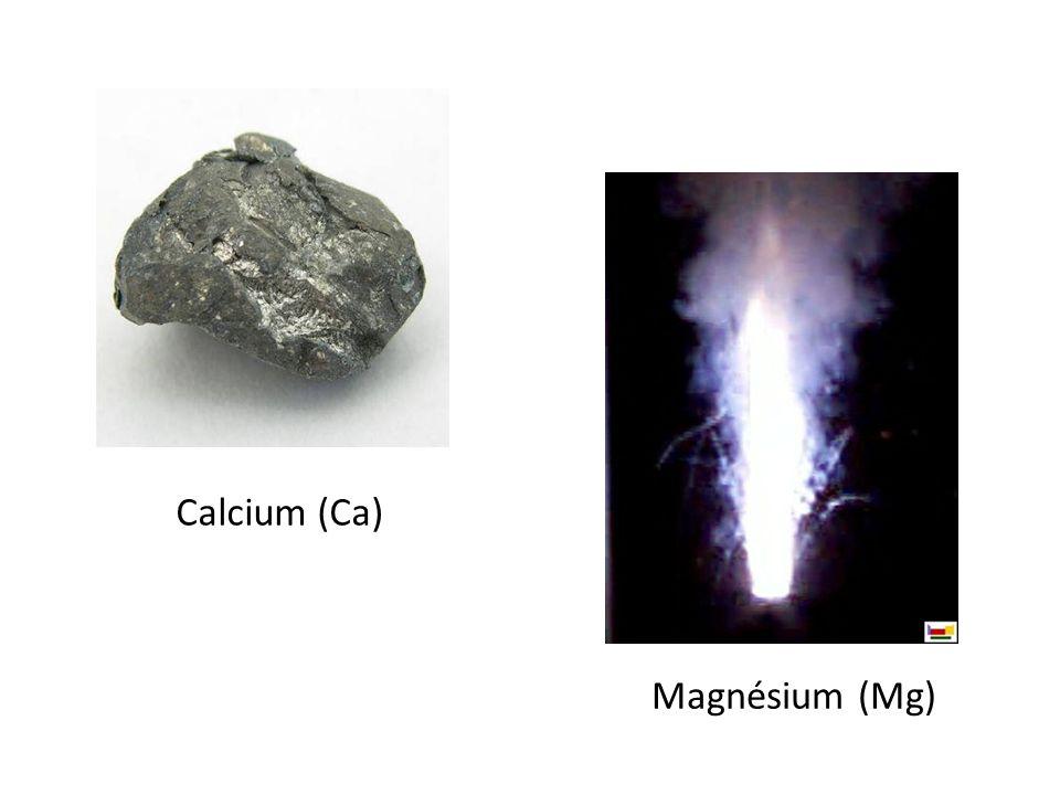 Calcium (Ca) Magnésium (Mg)