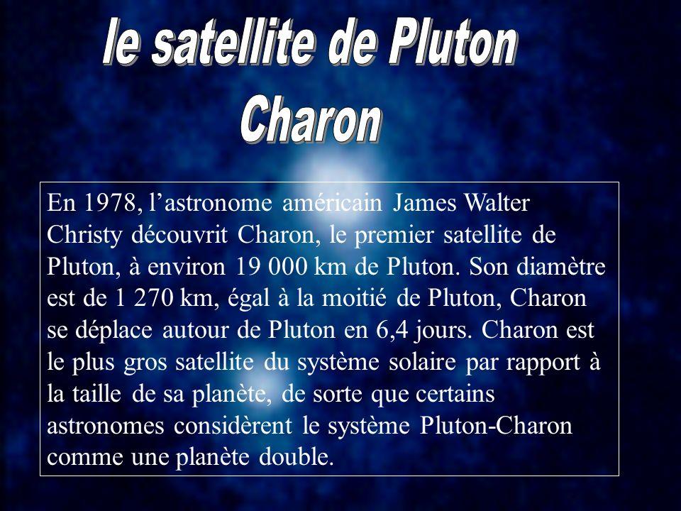 le satellite de Pluton Charon