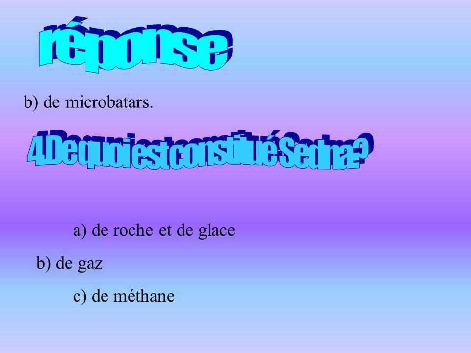 4.De quoi est constitué Sedna