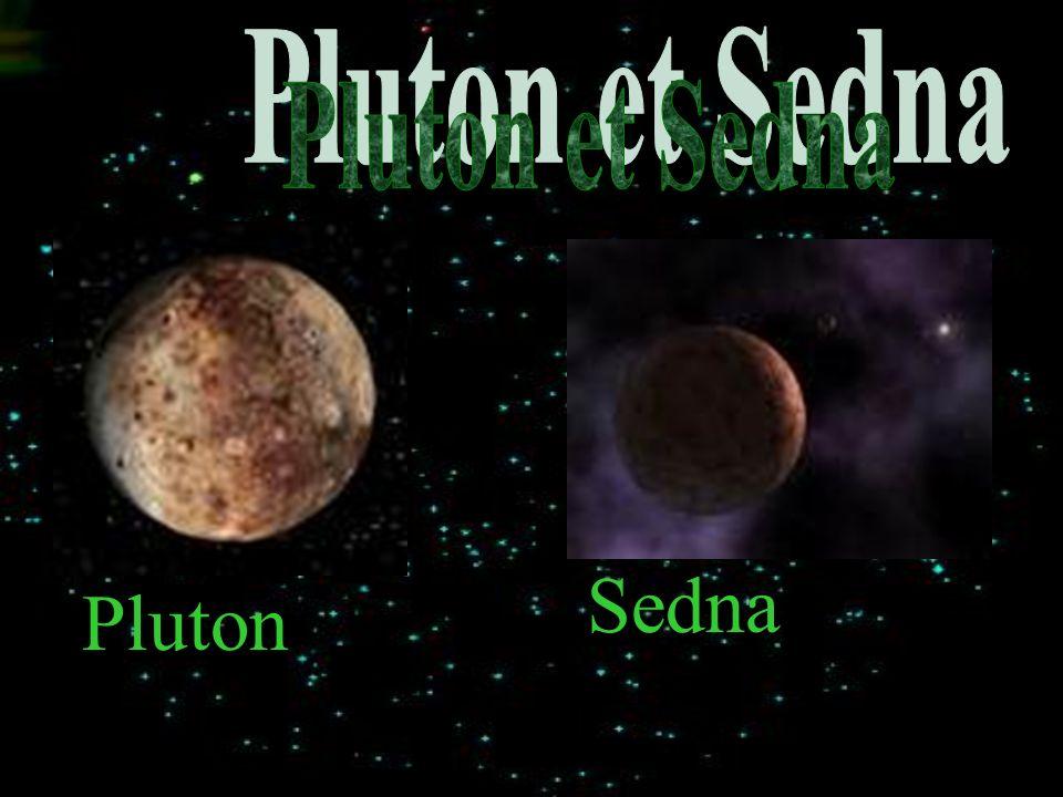 Pluton et Sedna Sedna Pluton
