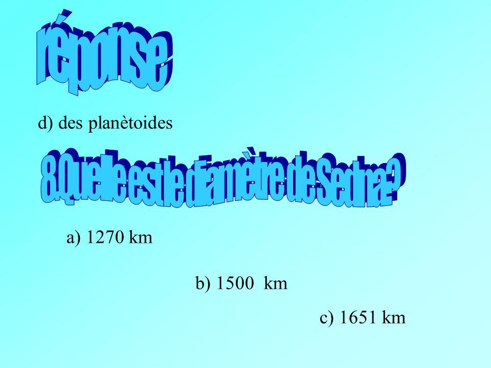 8.Quelle est le diamètre de Sedna