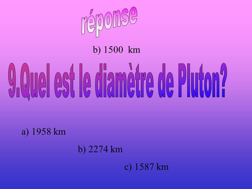 9.Quel est le diamètre de Pluton