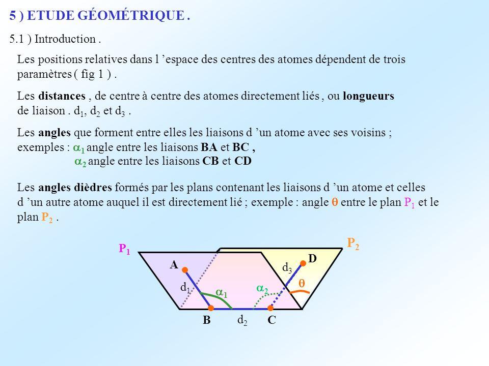 5 ) ETUDE GÉOMÉTRIQUE . P2 5.1 ) Introduction .