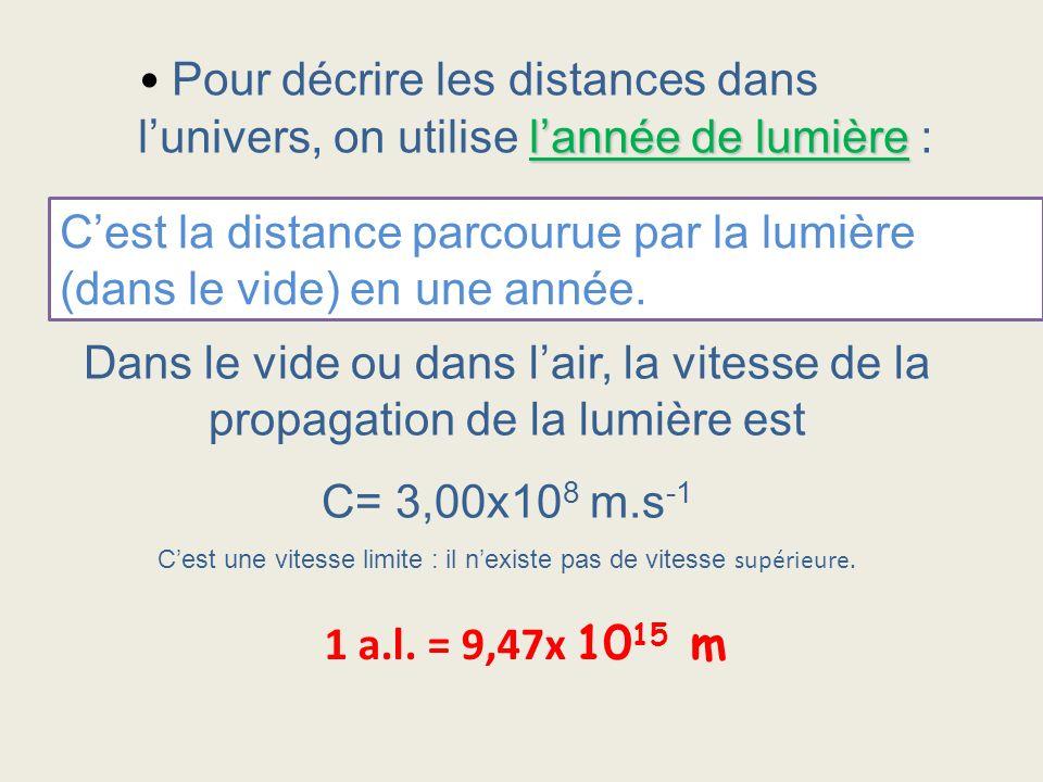 C'est une vitesse limite : il n'existe pas de vitesse supérieure.