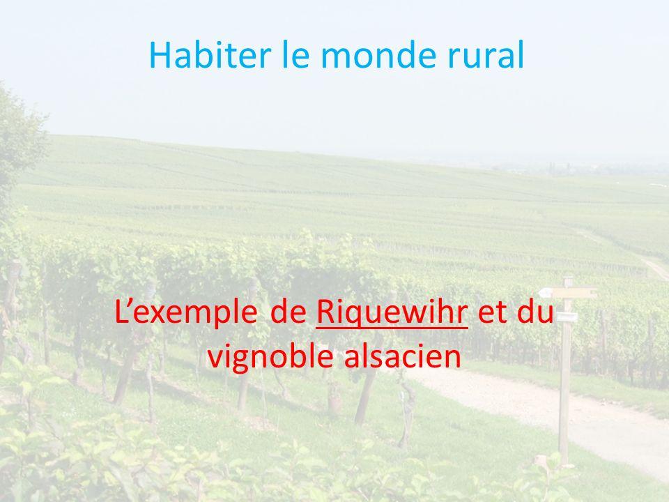 L'exemple de Riquewihr et du vignoble alsacien