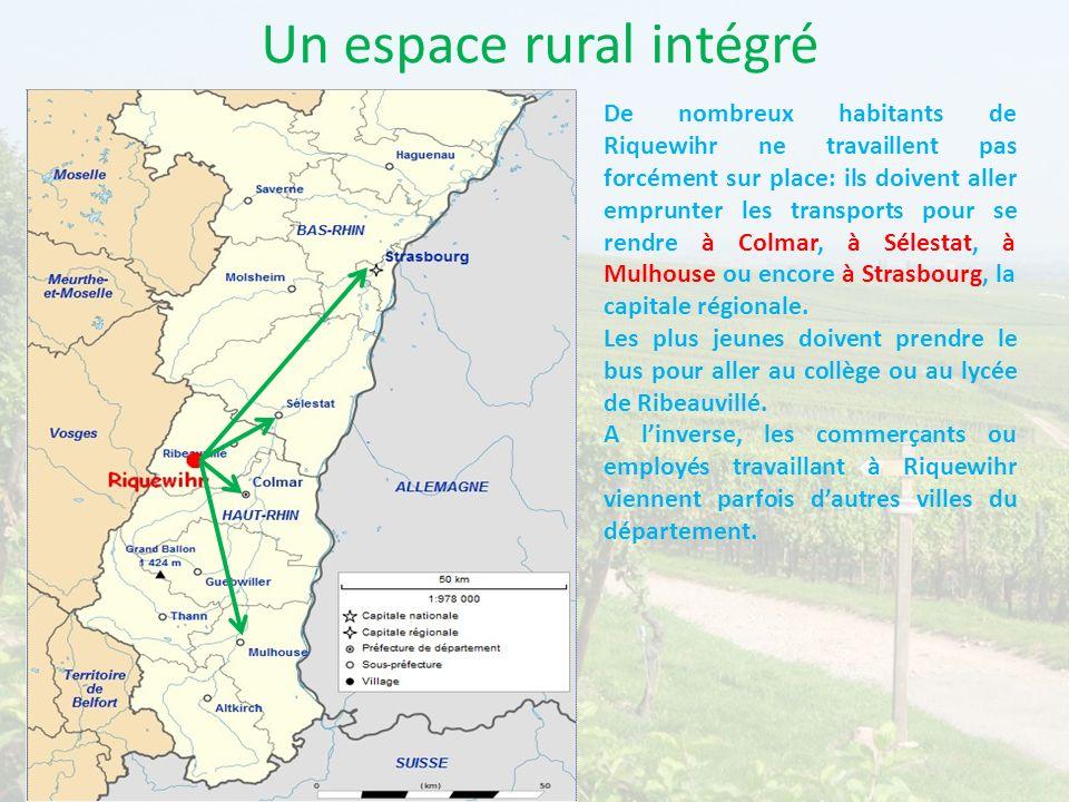 Un espace rural intégré
