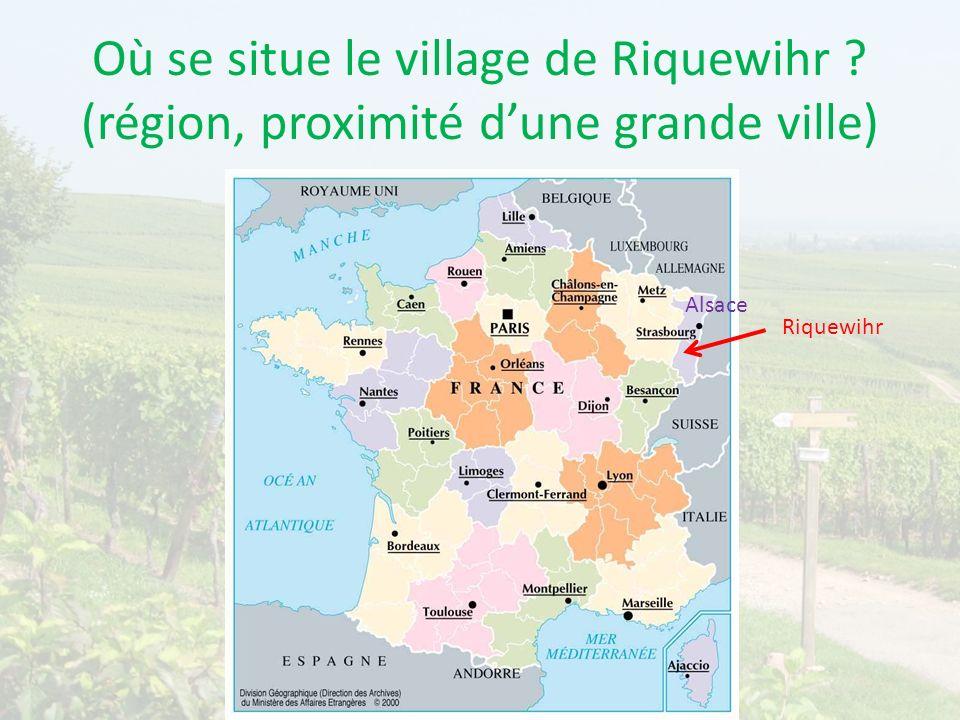 Où se situe le village de Riquewihr