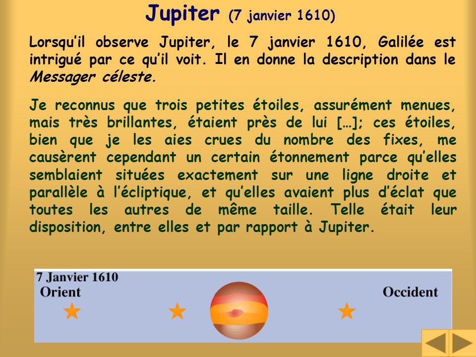 Jupiter (7 janvier 1610)