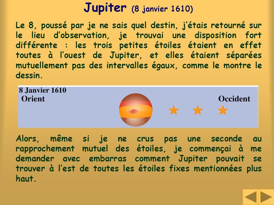 Jupiter (8 janvier 1610)