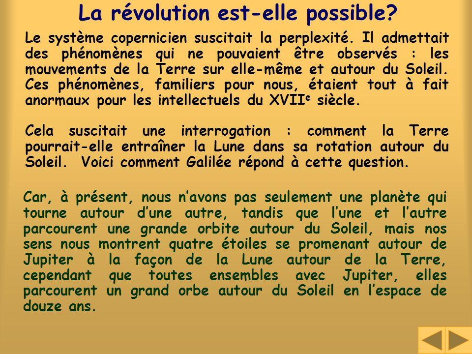 La révolution est-elle possible