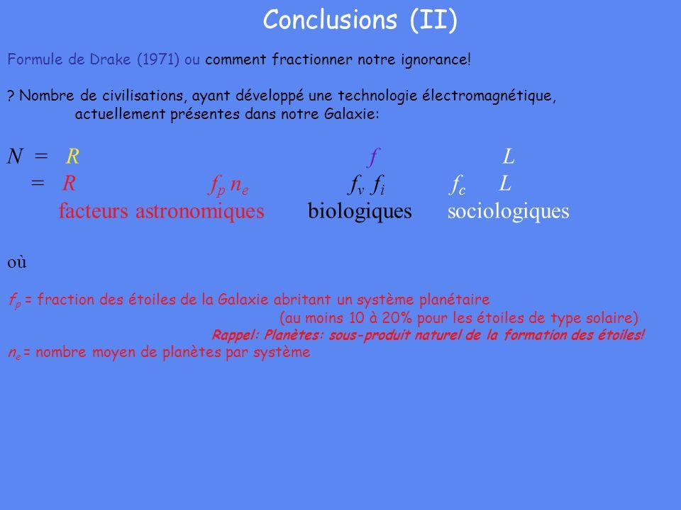 Conclusions (II) N = R f L = R fp ne fv fi fc L