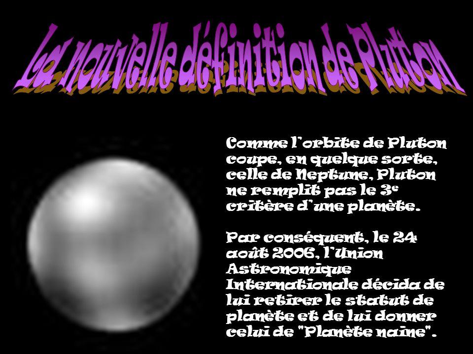 La nouvelle définition de Pluton