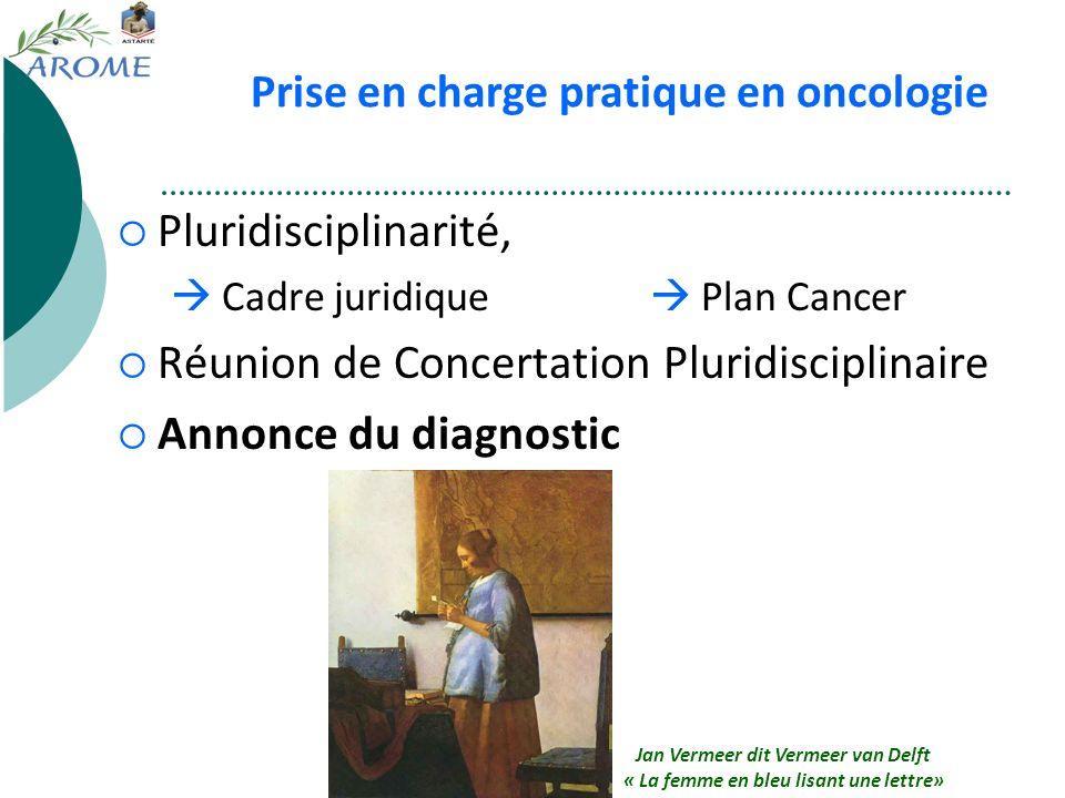 Réunion de Concertation Pluridisciplinaire Annonce du diagnostic