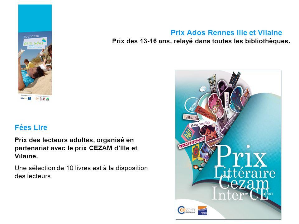 Prix Ados Rennes Ille et Vilaine