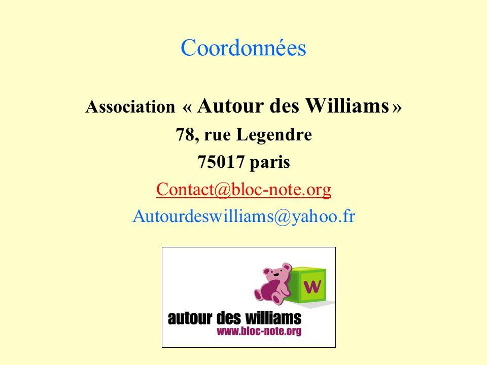 Association « Autour des Williams »