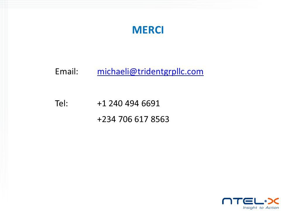 MERCI Email: michaeli@tridentgrpllc.com Tel: +1 240 494 6691 +234 706 617 8563