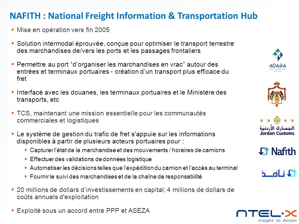 NAFITH : National Freight Information & Transportation Hub