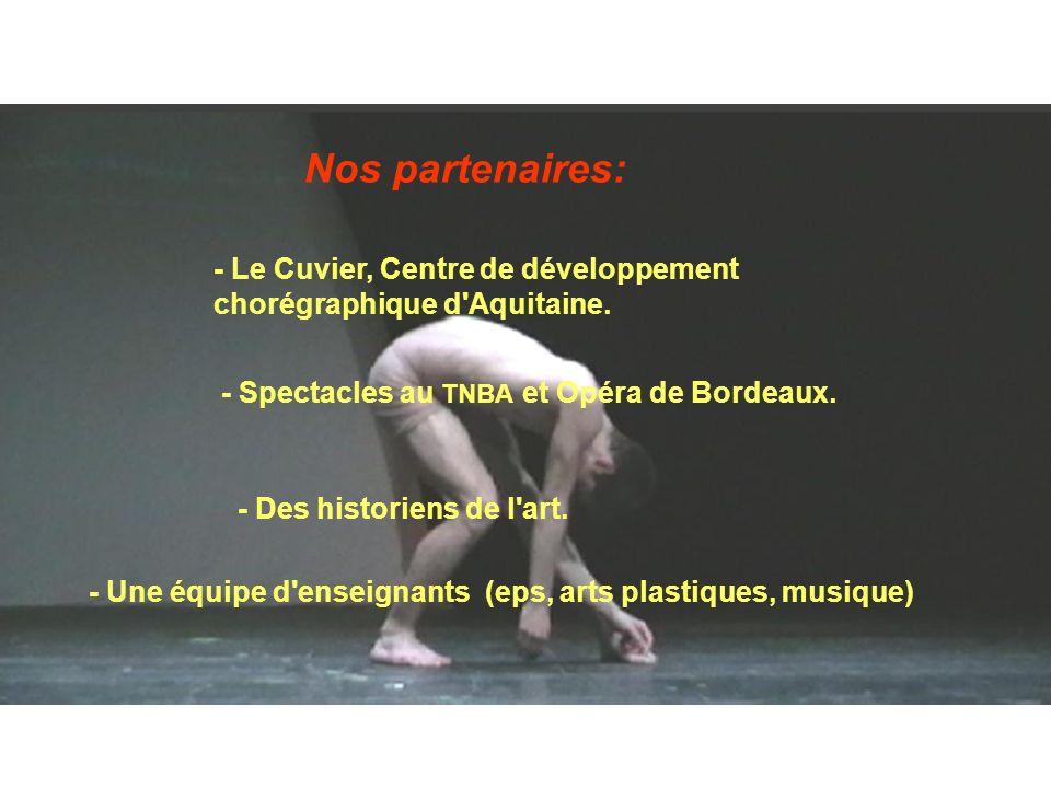 - Le Cuvier, Centre de développement chorégraphique d Aquitaine.