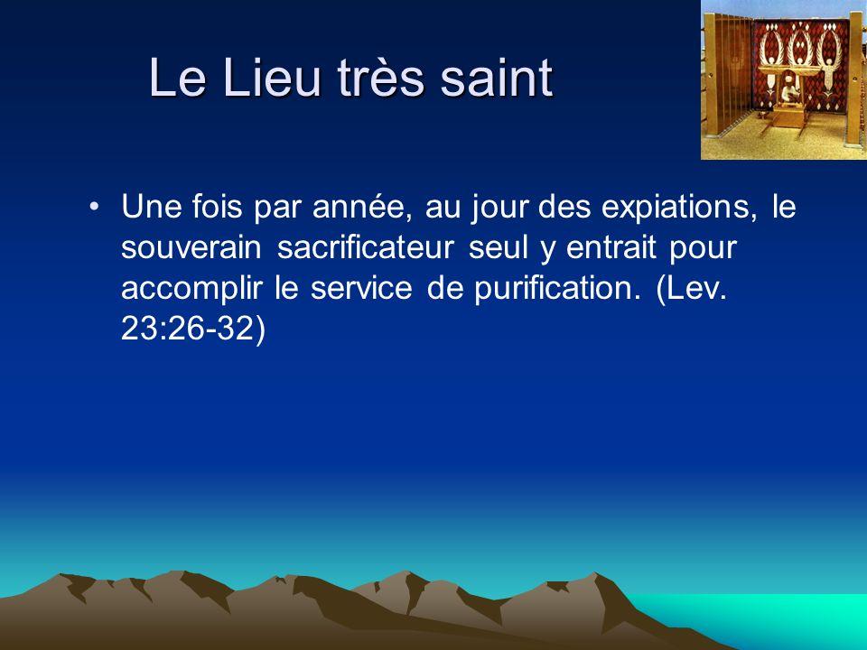Le Lieu très saint