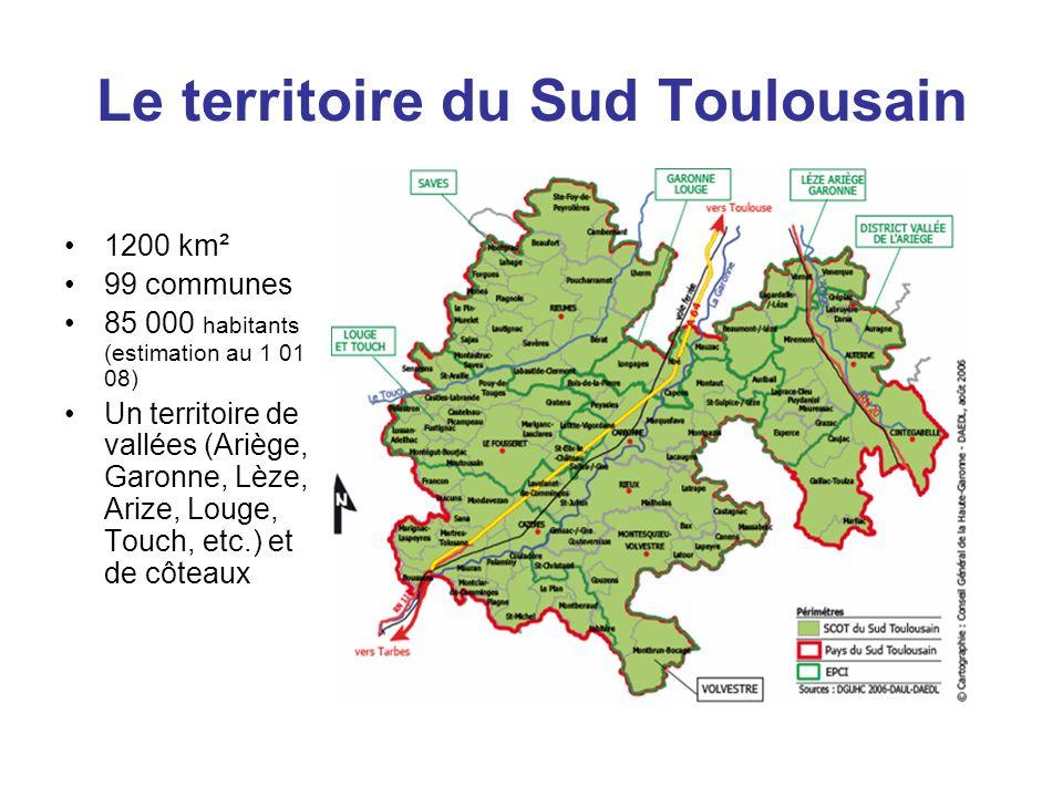 Le territoire du Sud Toulousain