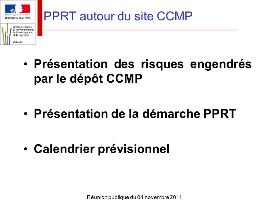 PPRT autour du site CCMP