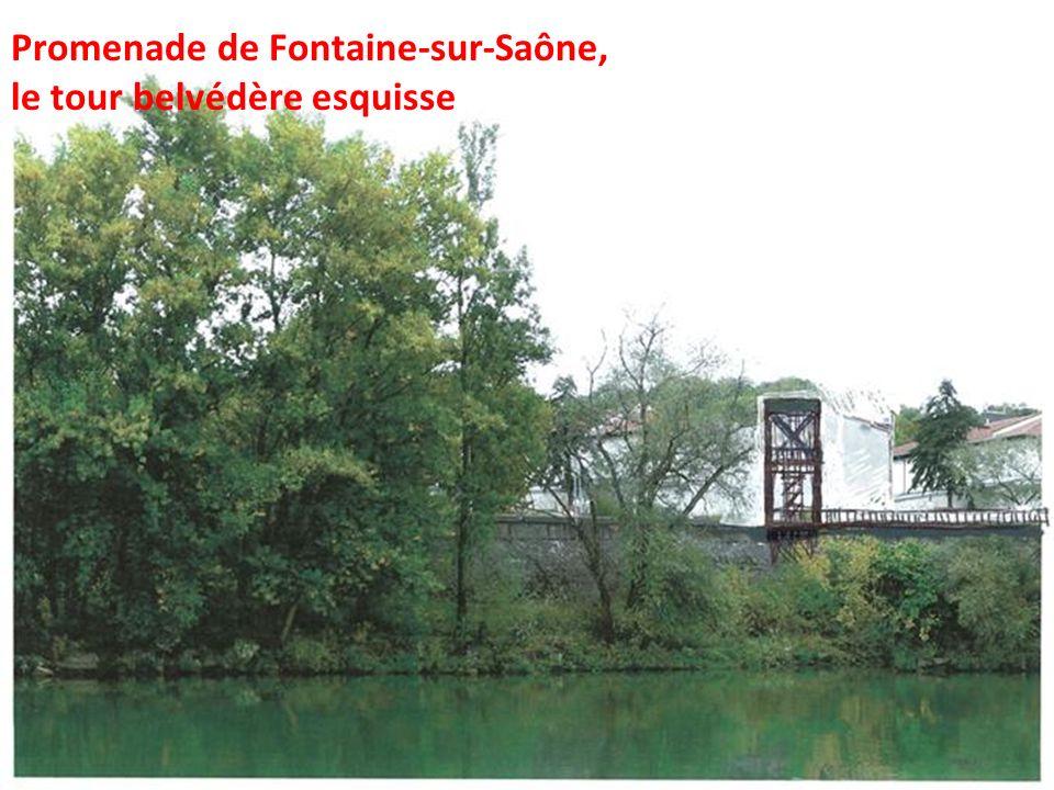 Promenade de Fontaine-sur-Saône,