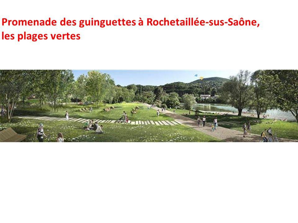 Promenade des guinguettes à Rochetaillée-sus-Saône,