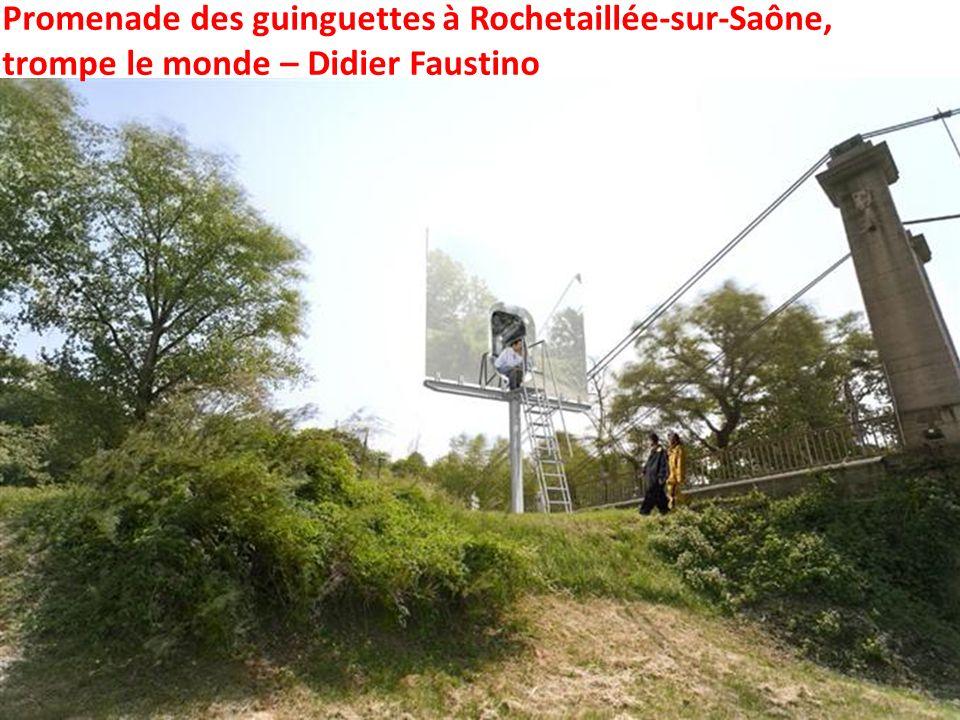 Promenade des guinguettes à Rochetaillée-sur-Saône,