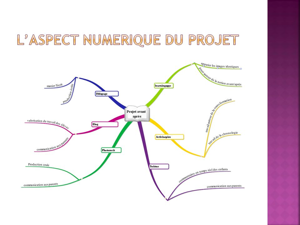 L'aspect numerique du projet