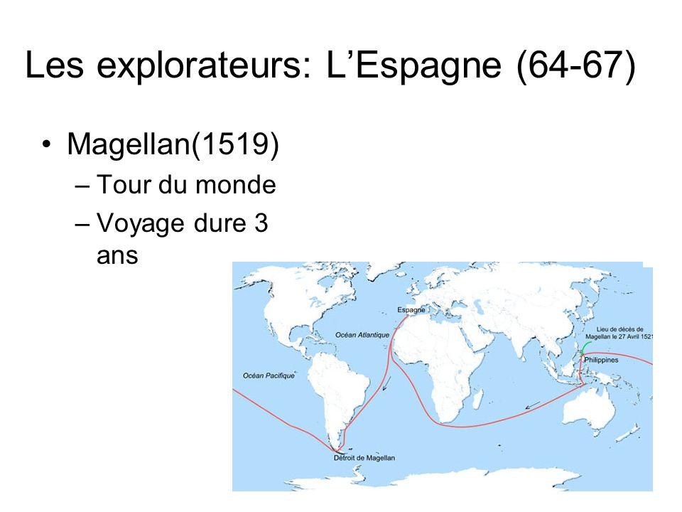 Les explorateurs: L'Espagne (64-67)