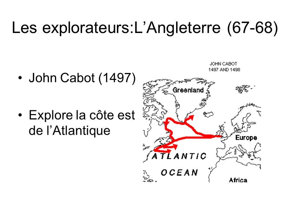 Les explorateurs:L'Angleterre (67-68)