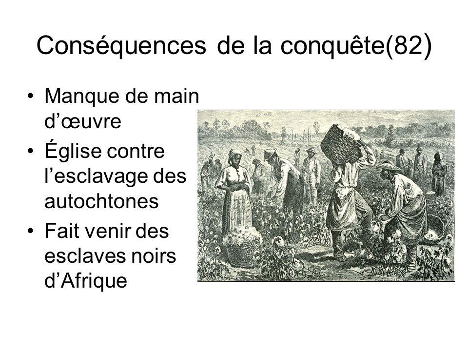 Conséquences de la conquête(82)