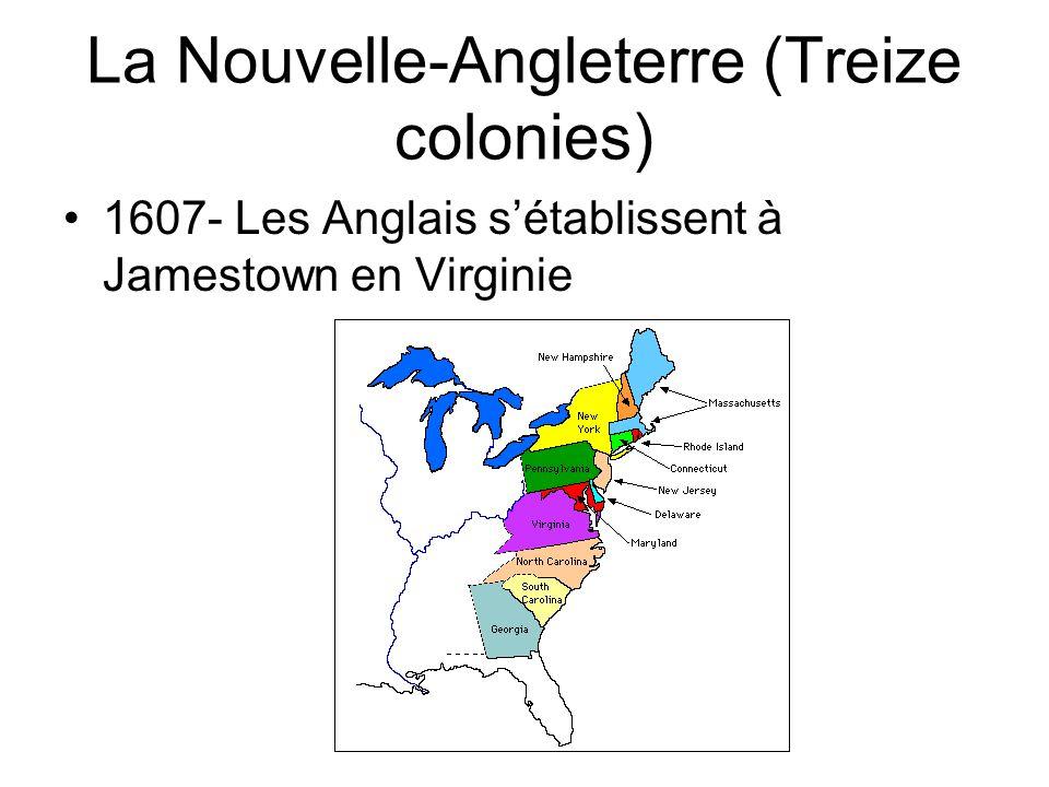 La Nouvelle-Angleterre (Treize colonies)