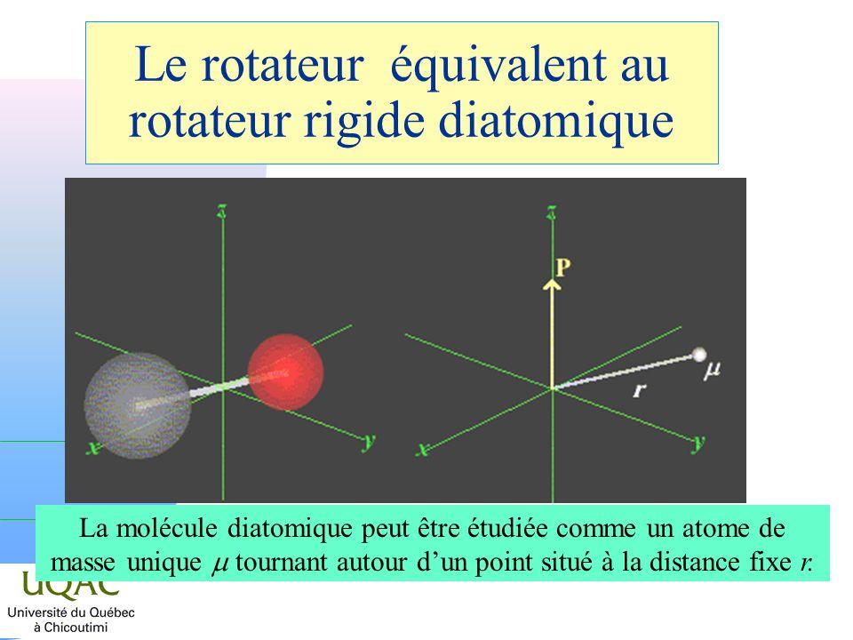 Le rotateur équivalent au rotateur rigide diatomique