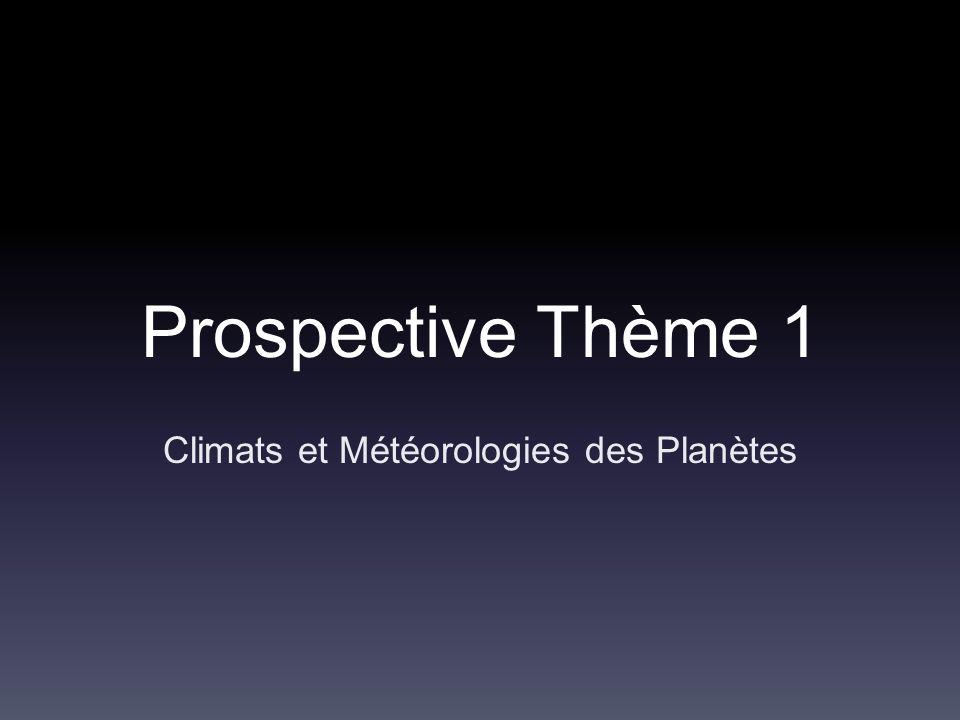 Climats et Météorologies des Planètes