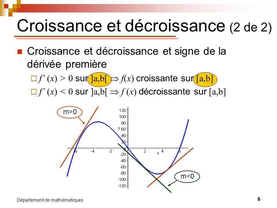 Croissance et décroissance (2 de 2)