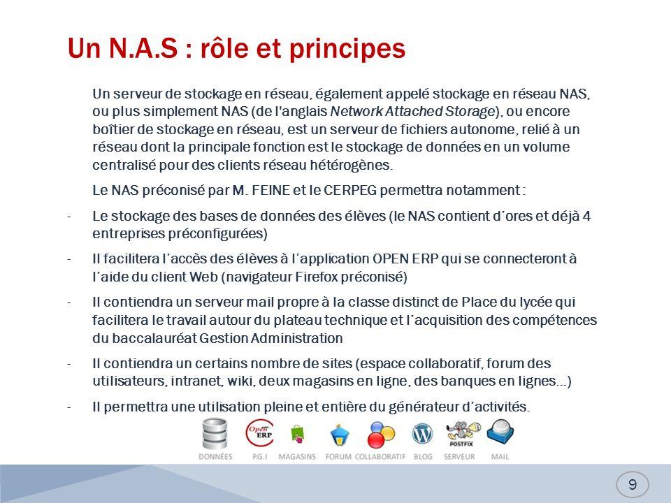 Un N.A.S : rôle et principes