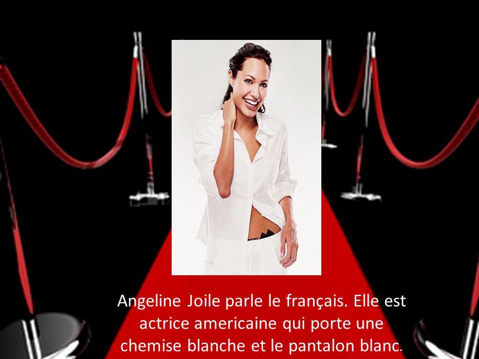 Angeline Joile parle le français