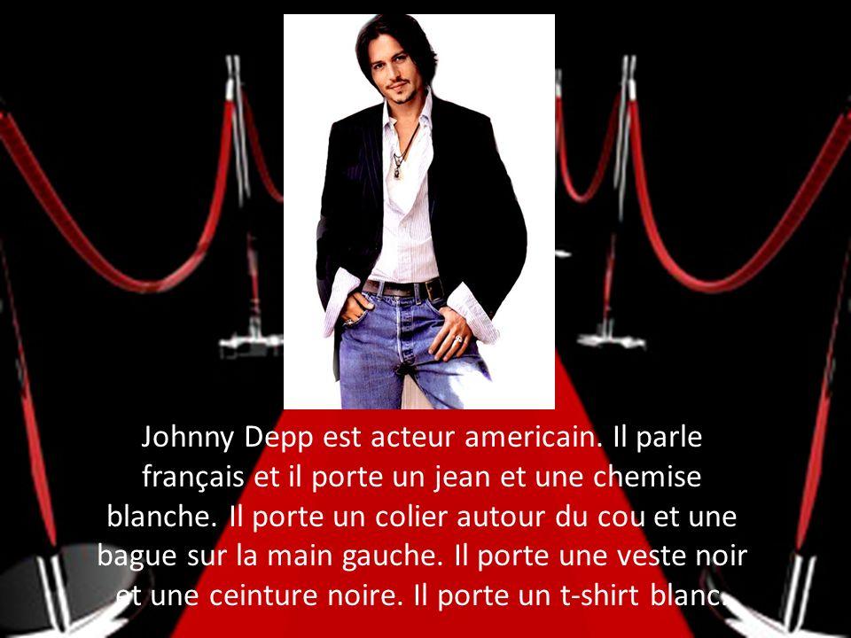 Johnny Depp est acteur americain