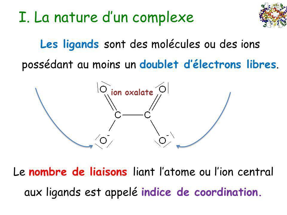 I. La nature d'un complexe