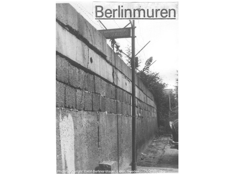 Berlin in 1977. This shows the original Wall built in 1961.