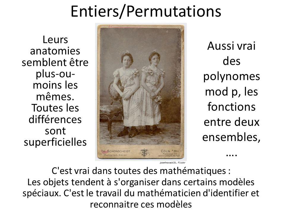 Entiers/Permutations